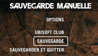 Far Cry Primal - sauvegarde manuelle
