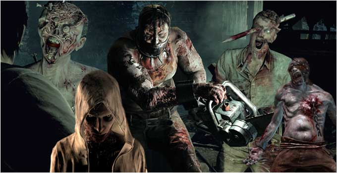 The Evil Within par un nul - bestiaries