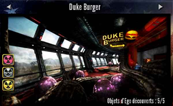 Duke Nukem Forever - Duke Burger